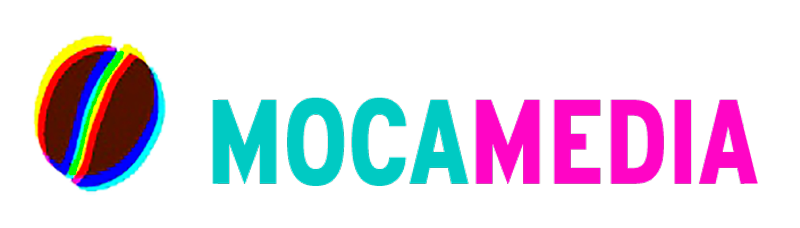 MocaMedia horizontal logo Impact marketing