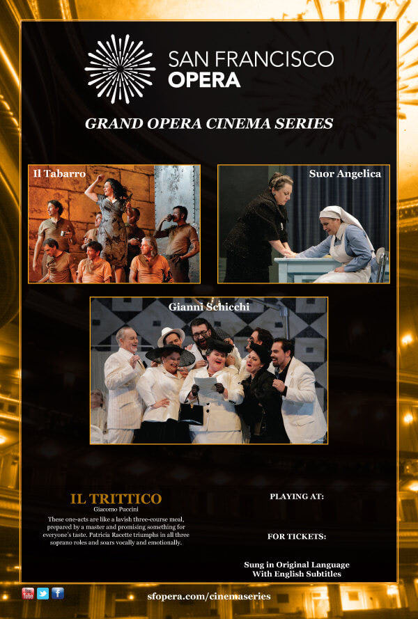 San Francisco Grand Opera Cinema Series Marketing and Outreach